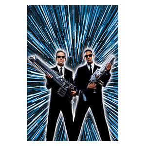 Men In Black. Размер: 20 х 30 см